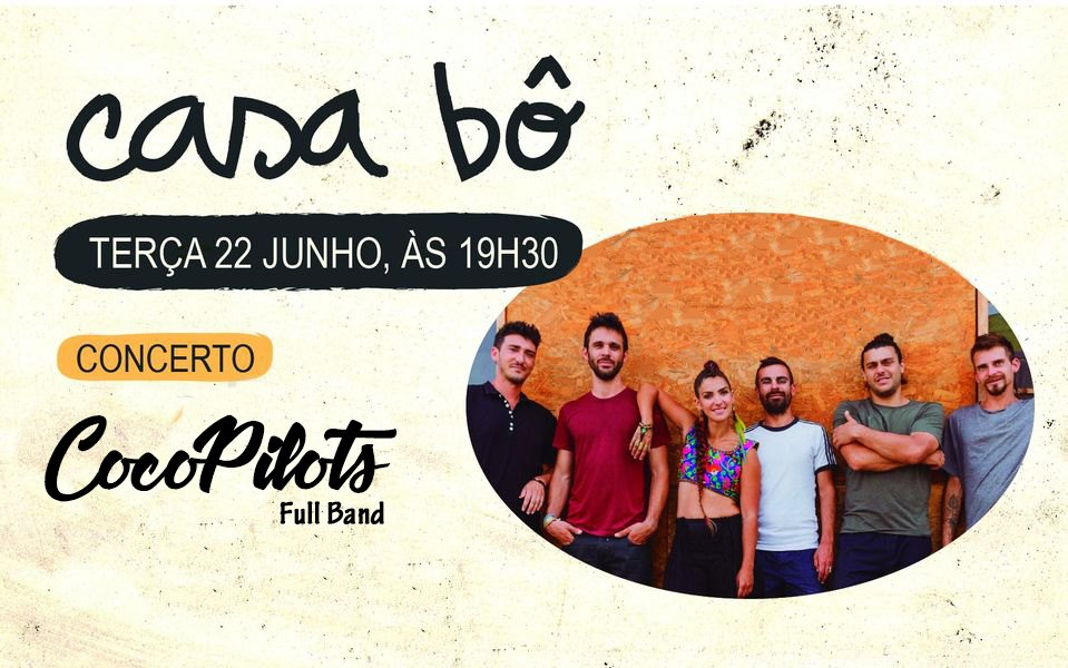 CocoPilots full band 1 vez no Porto