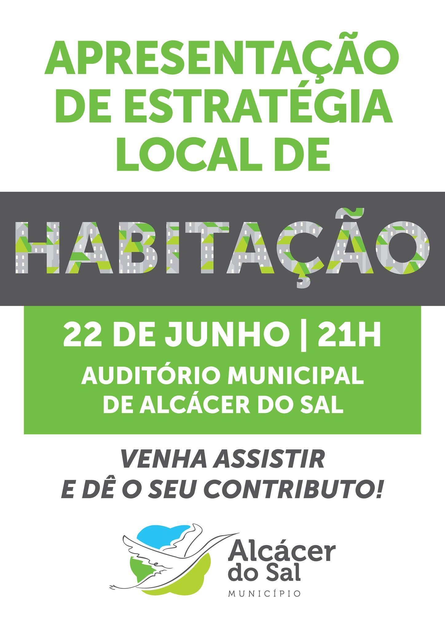 Apresentação pública de Estratégia Local de Habitação