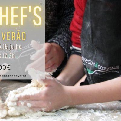 Formação Mini Chefs Verão'21 - Presencial