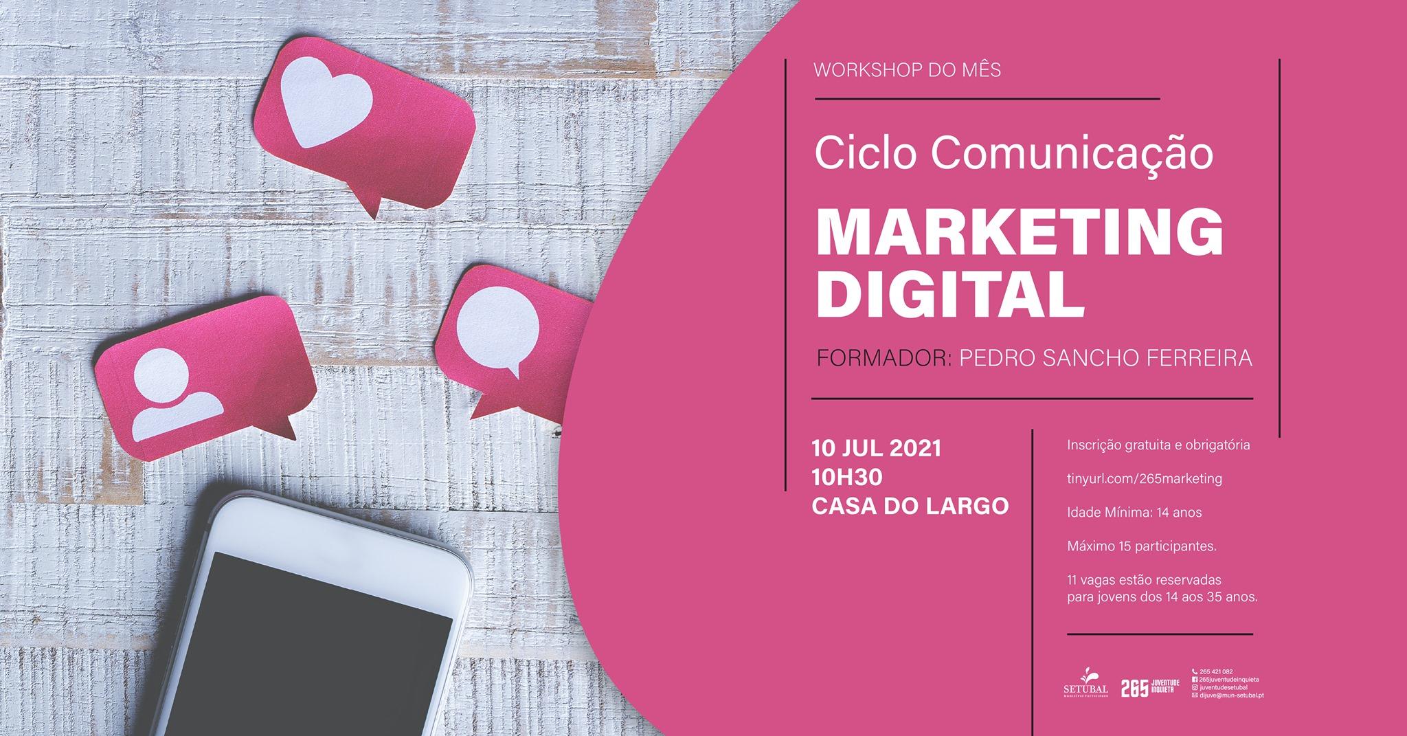 Workshop: Marketing Digital