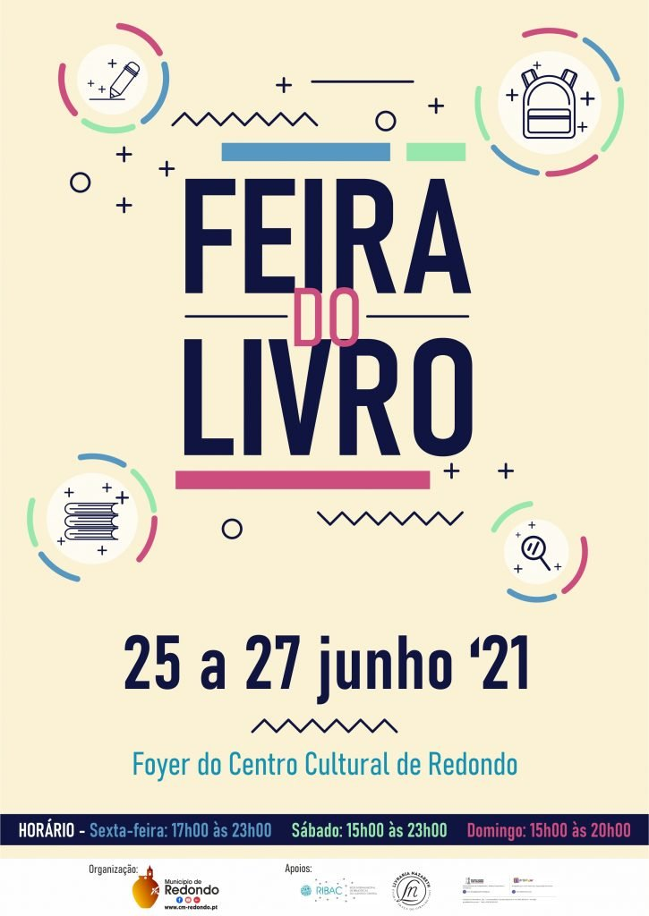 Feira do Livro | 25 a 27 de junho | Foyer CCR