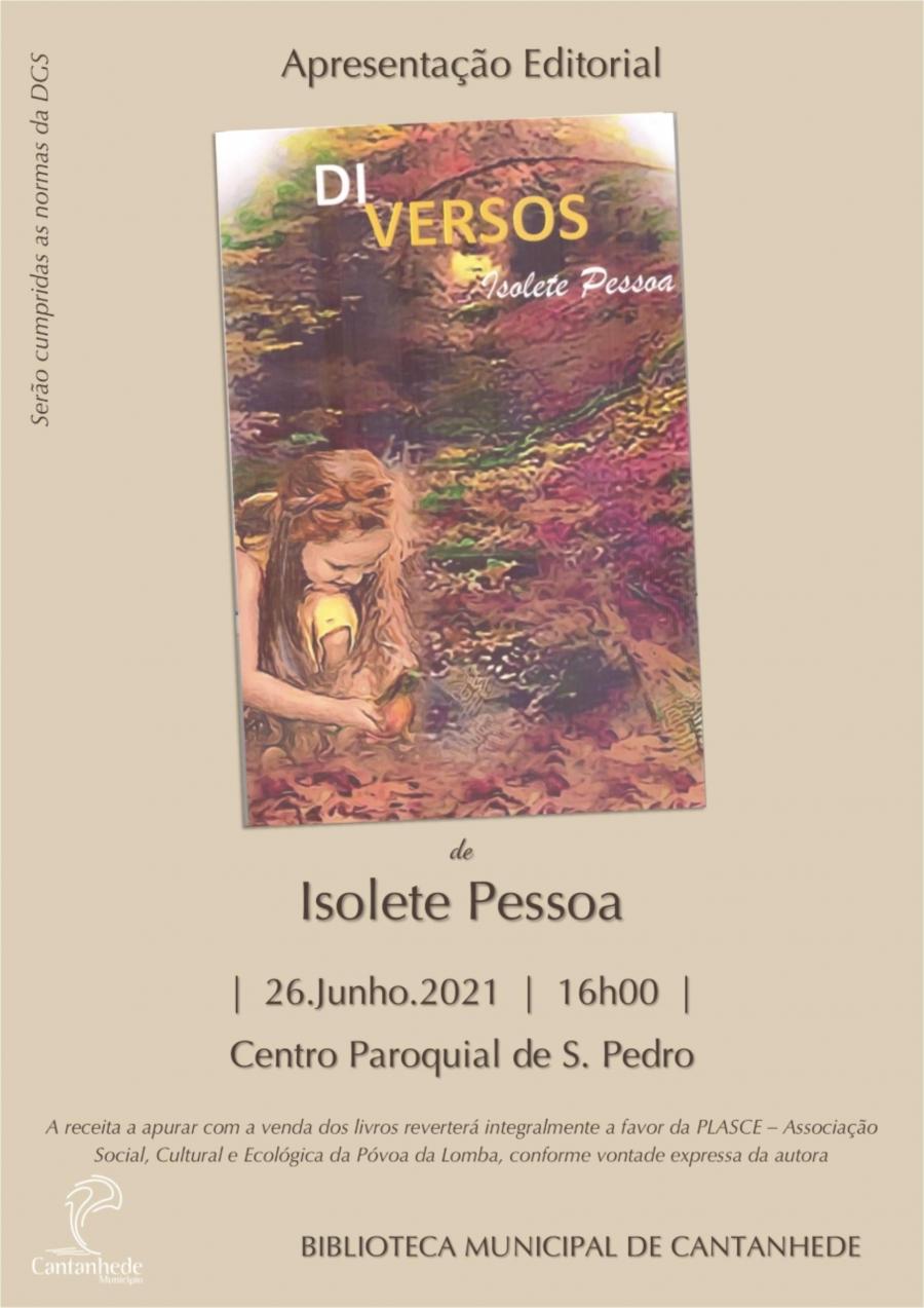 Apresentação Editorial 'DIversos', de Isolete Pessoa