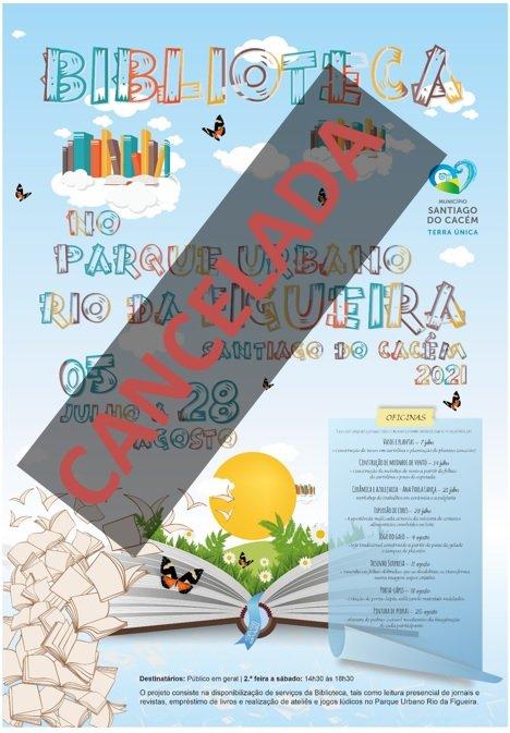 Biblioteca no Parque Urbano Rio da Figueira