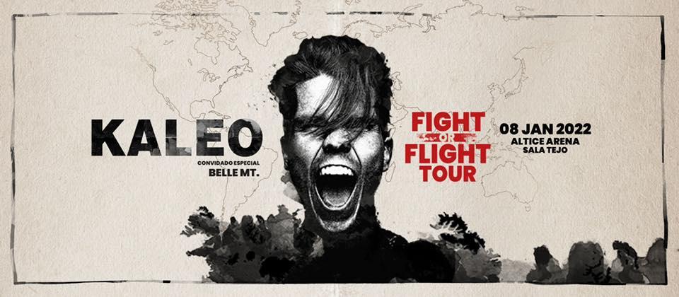 KALEO - Fight Or Flight Tour em Lisboa