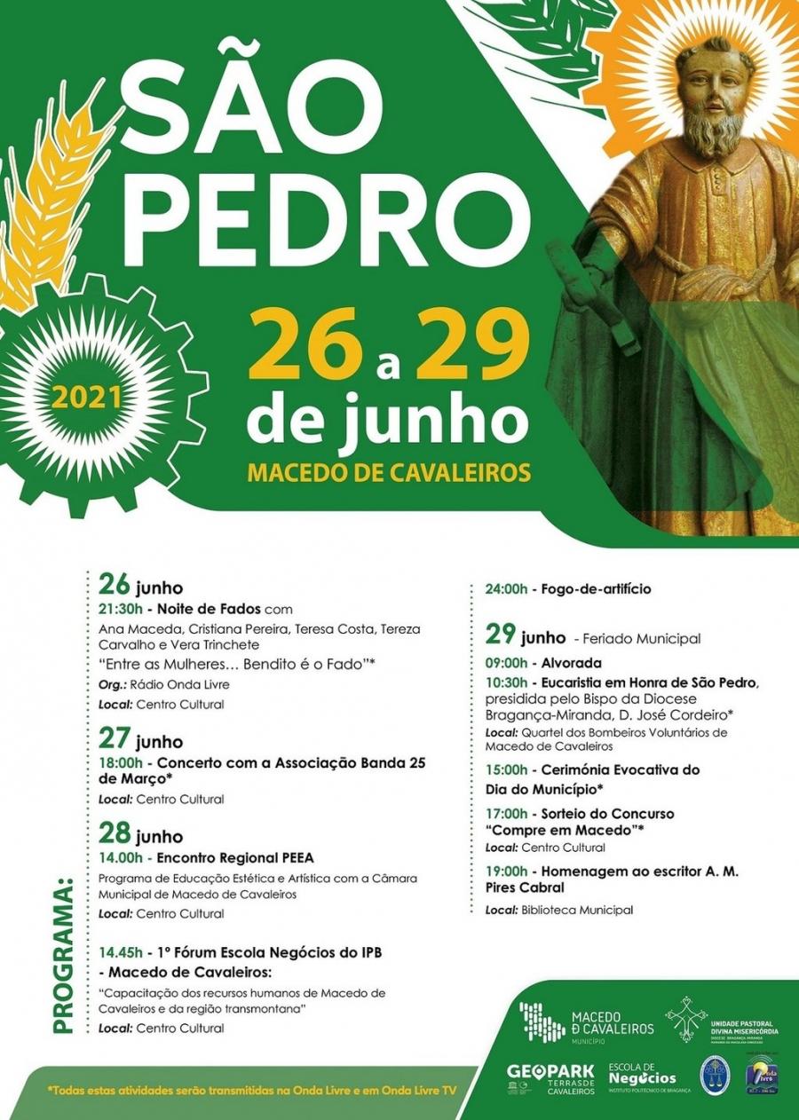 São Pedro 2021