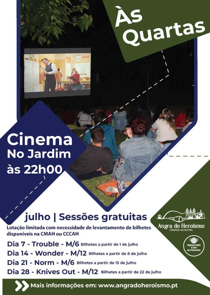 Às Quartas Cinema é no Jardim