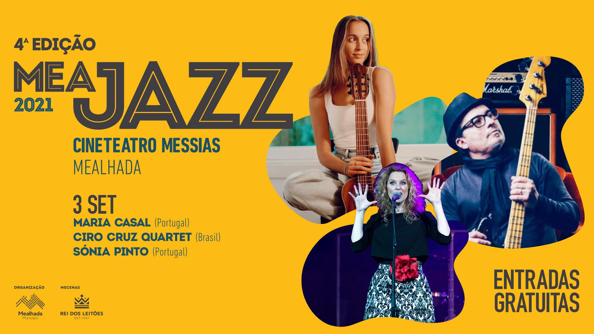 Meajazz - 4.ª edição: Sónia Pinto (Portugal)