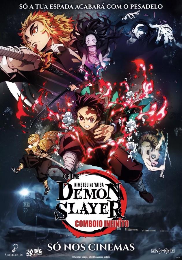 Demon Slayer – Comboio Infinito