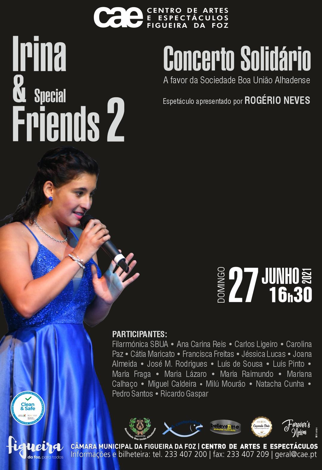 IRINA LOPES & SPECIAL FRIENDS 2 - CONCERTO SOLIDÁRIO