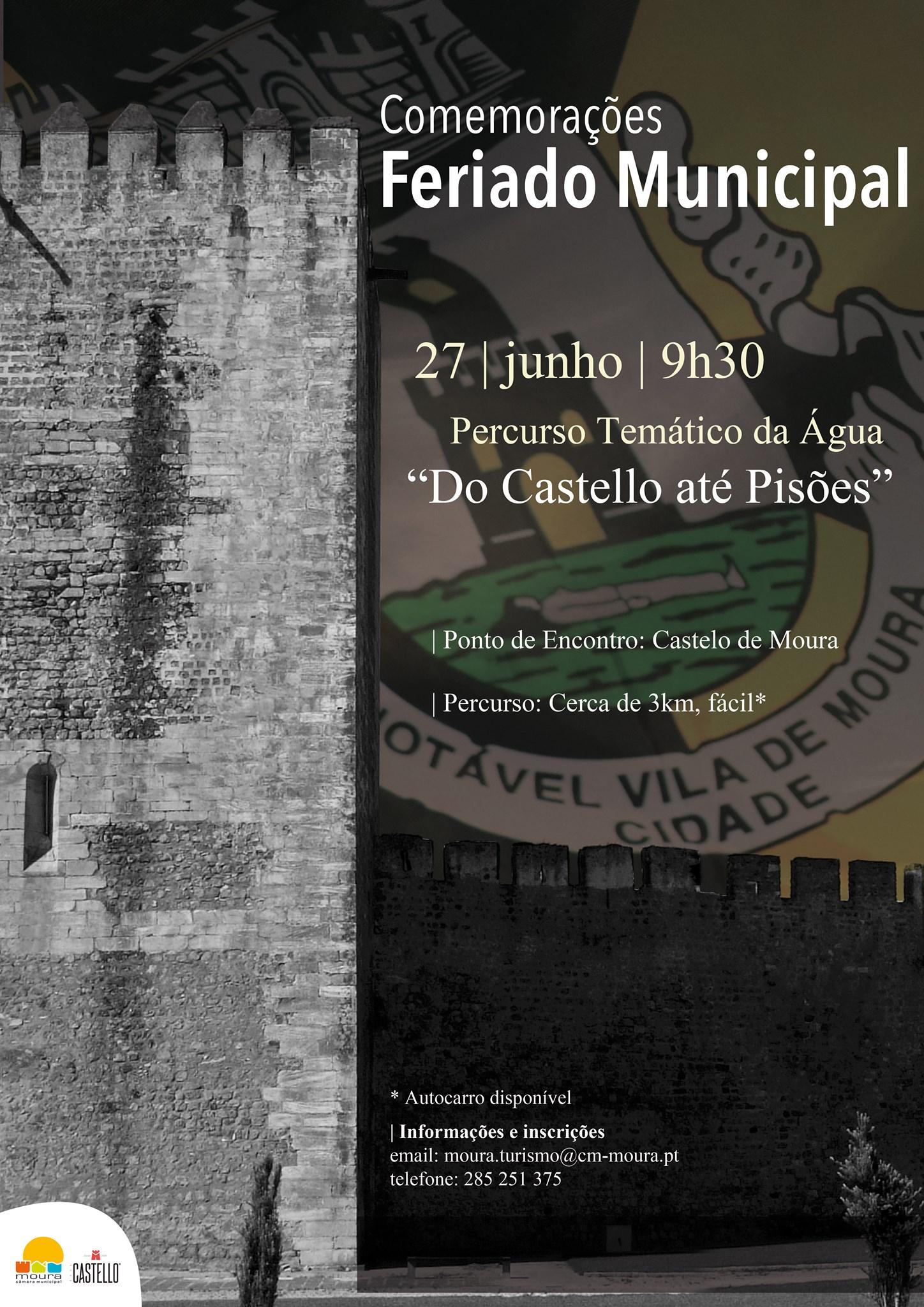 """Percurso temático da Água: """"Do Castello até Pisões"""""""