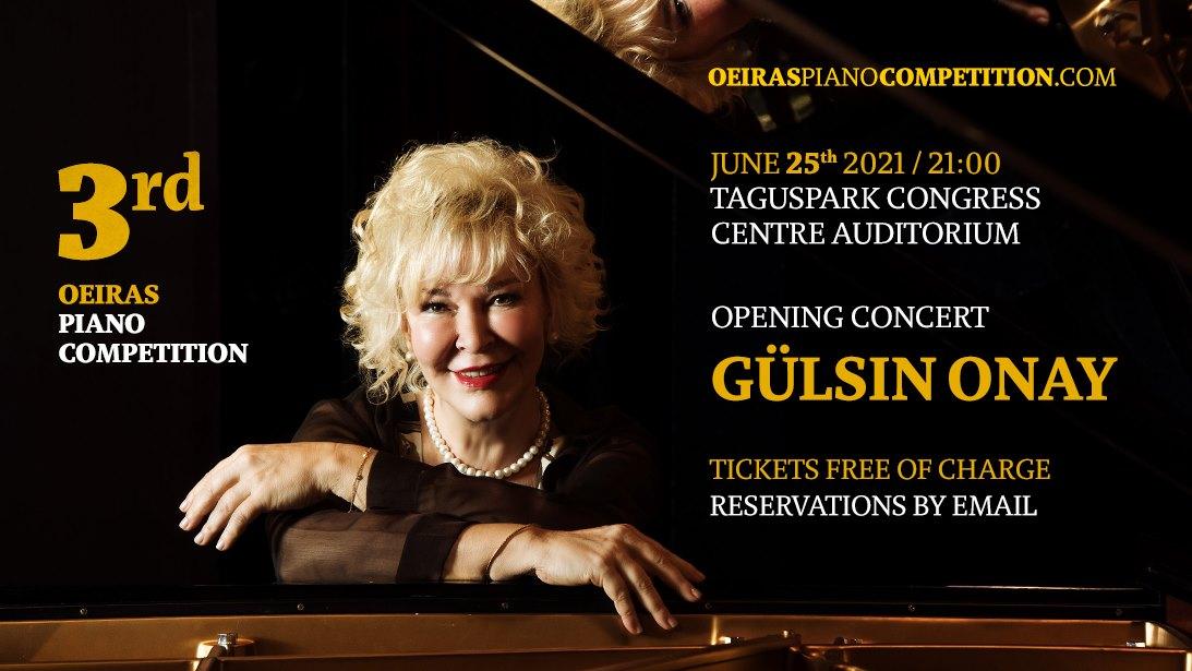 Gülsin Onay | Concerto de abertura Concurso de Piano de Oeiras