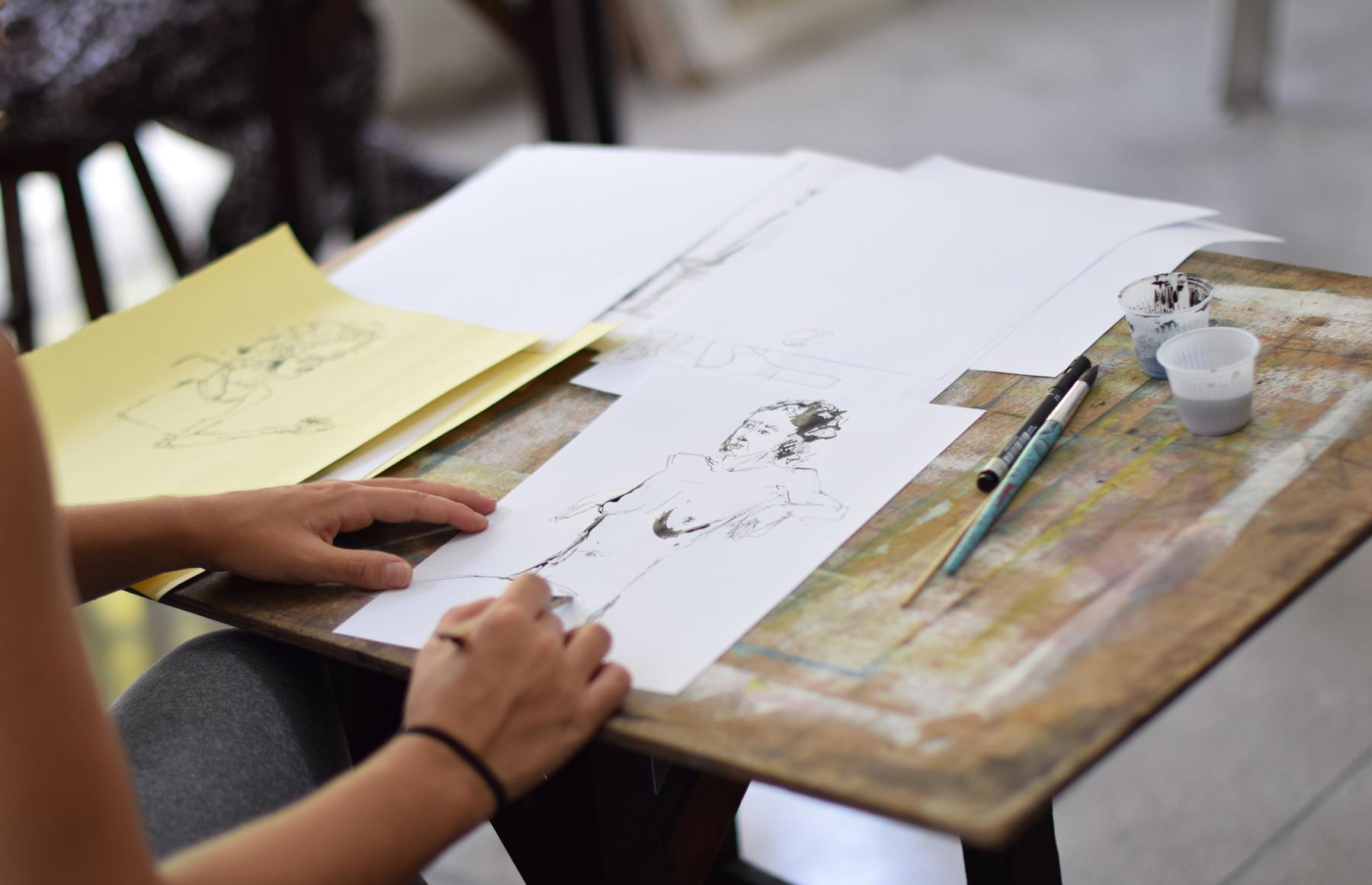 Desenho com Valéria Rey Soto  :: Bairro em Festa 2021