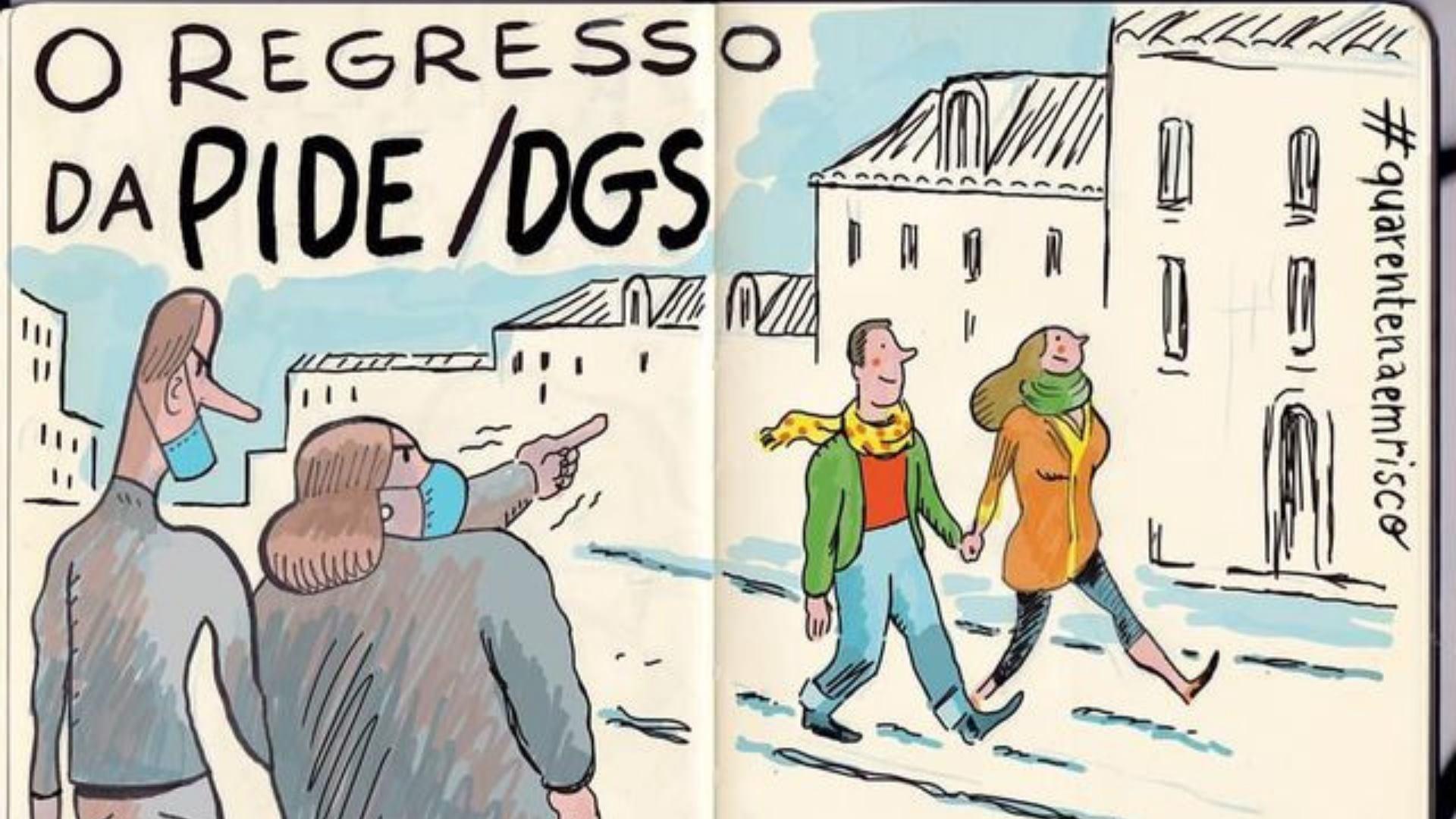 'Diário de uma quarentena em risco' - Nuno Saraiva :: Bairro em Festa 2021