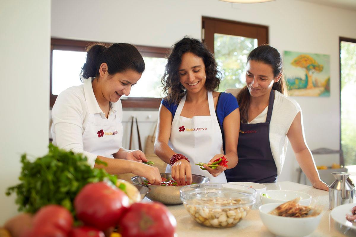3 Course Cooking Class & Dinner in a traditional farm