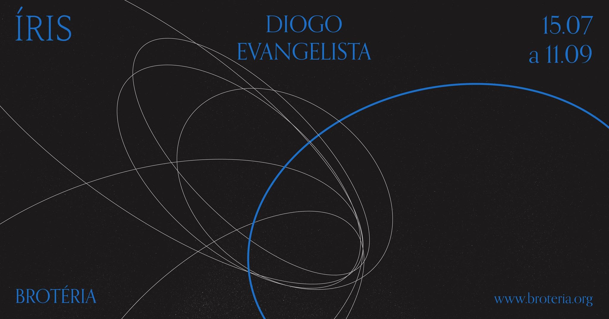 Inauguração da exposição ÍRIS – Diogo Evangelista