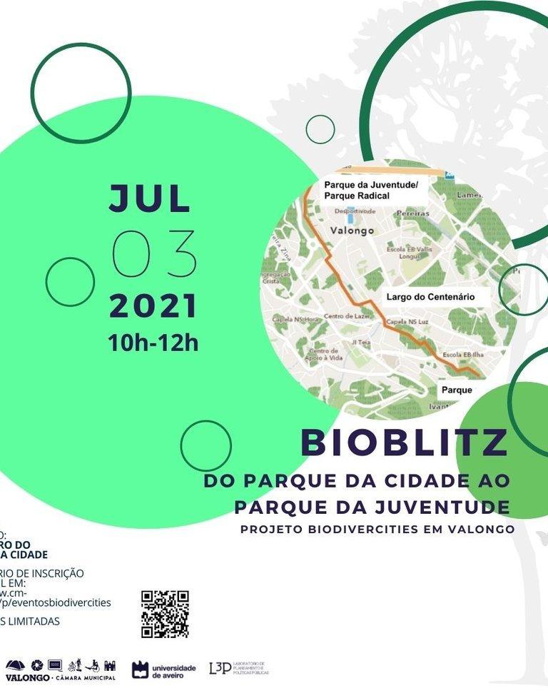 BioBlitz – BiodiverCities Valongo