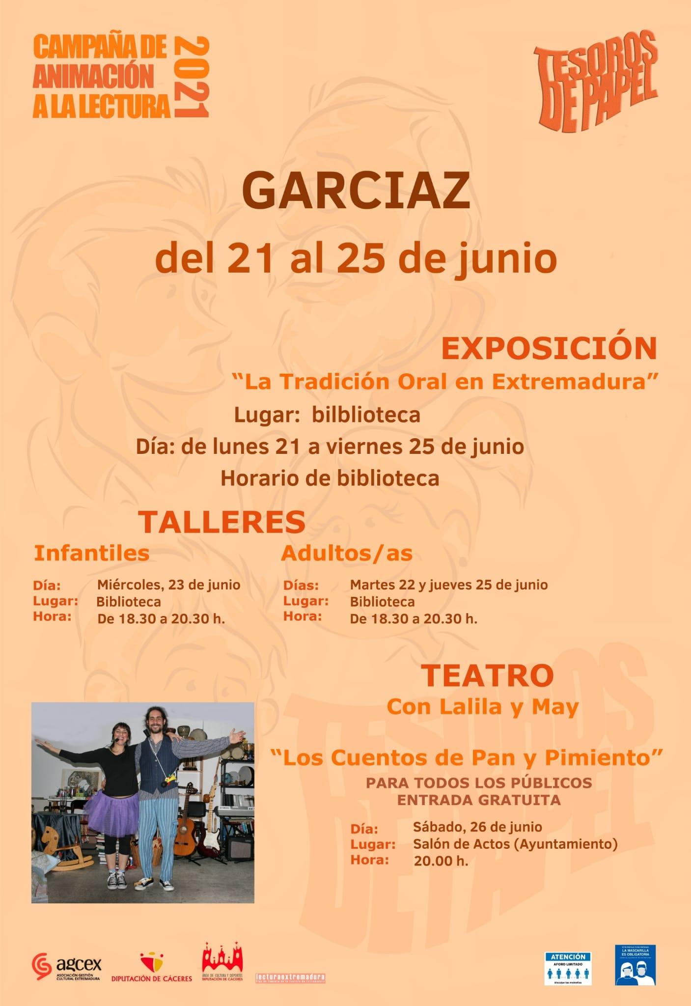 Campaña 'Tesoros de Papel'. Garciaz