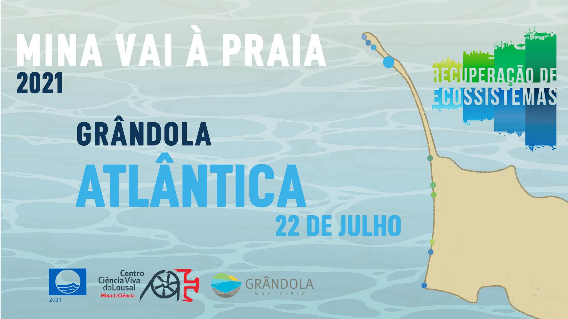 Mina vai à Praia - Atlântica