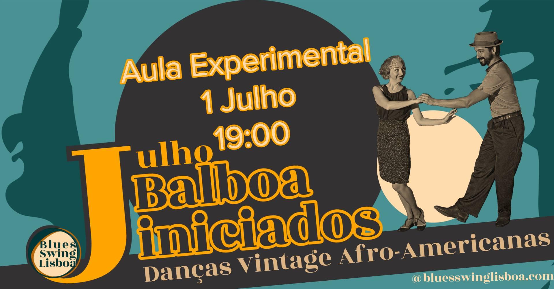Balboa nova turma iniciados   Aula experimental