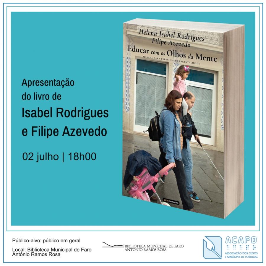 Apresentação do livro de Isabel Rodrigues e Filipe Azevedo