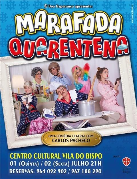 Marafada Quarentena no Centro Cultural de Vila do Bispo