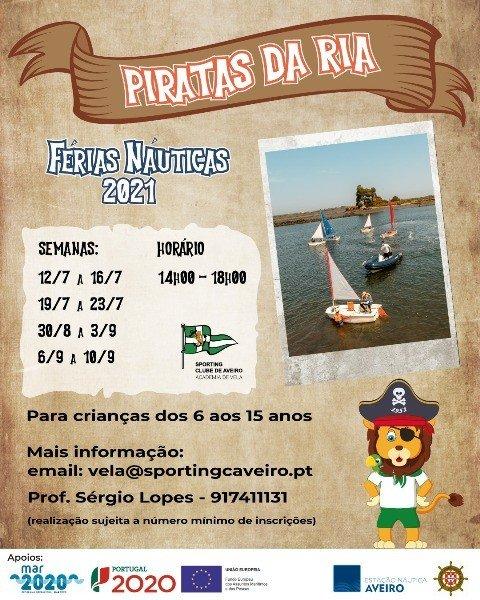 Férias Náuticas 'Piratas da Ria'