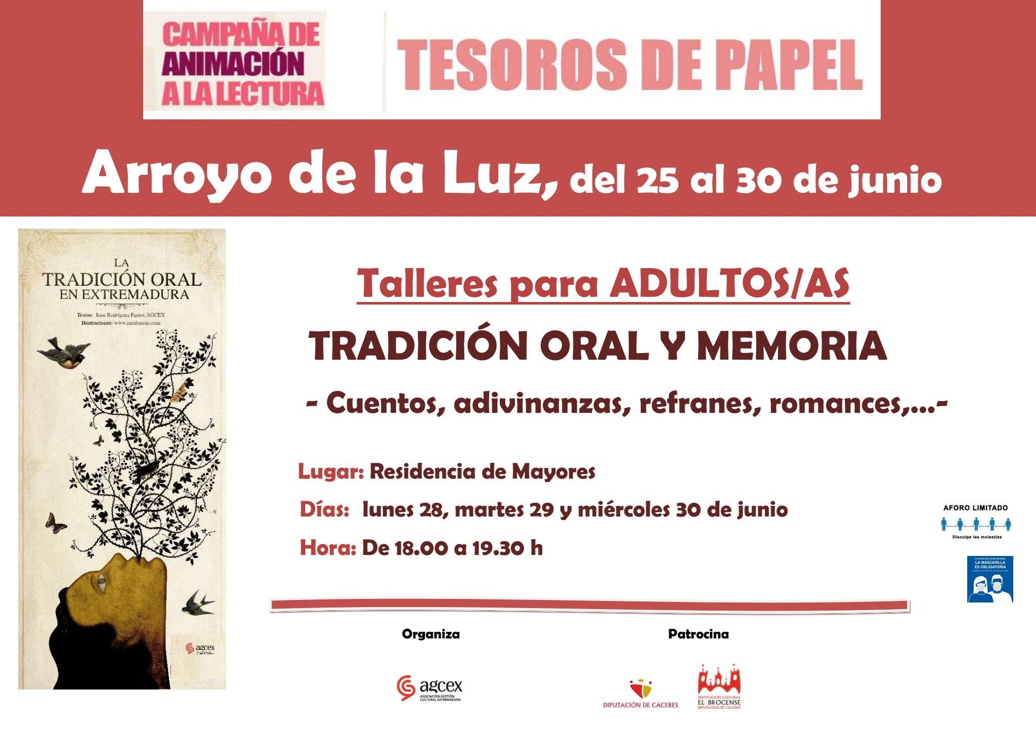 Tesoros de Papel. Arroyo de la Luz.