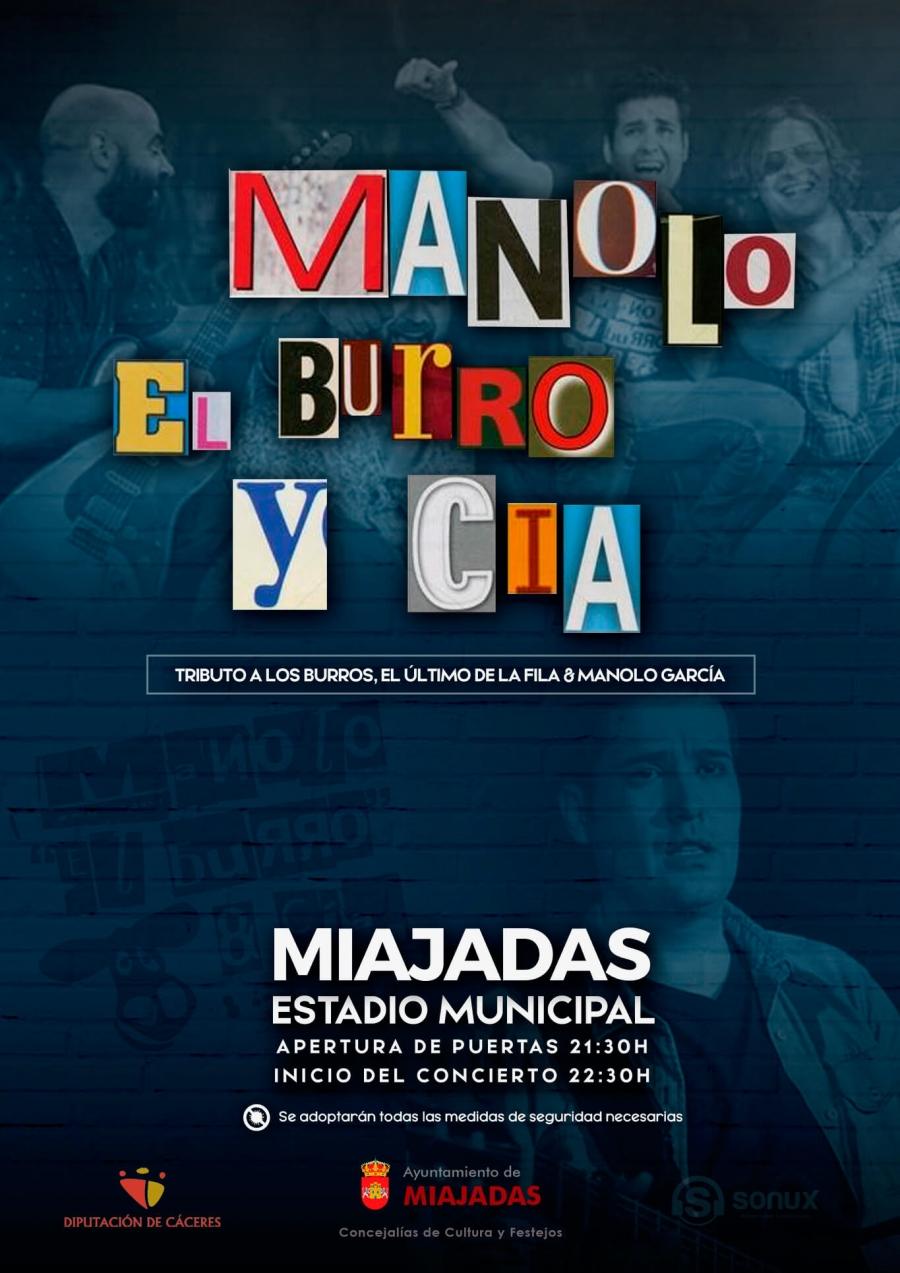 Tributo a: El Último de la Fila, Los Burros y Manolo García