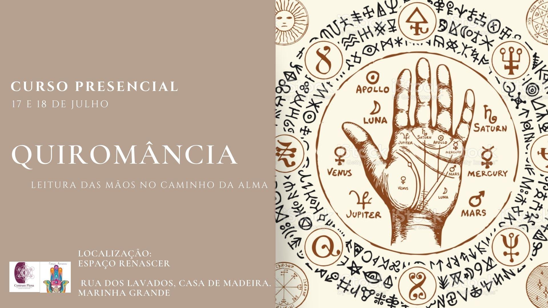 Curso de Quiromancia - Leitura das mãos no caminho da alma