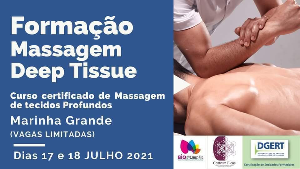 Formação Massagem Muscular dos tecidos profundos (deep tissue)  - DGERT