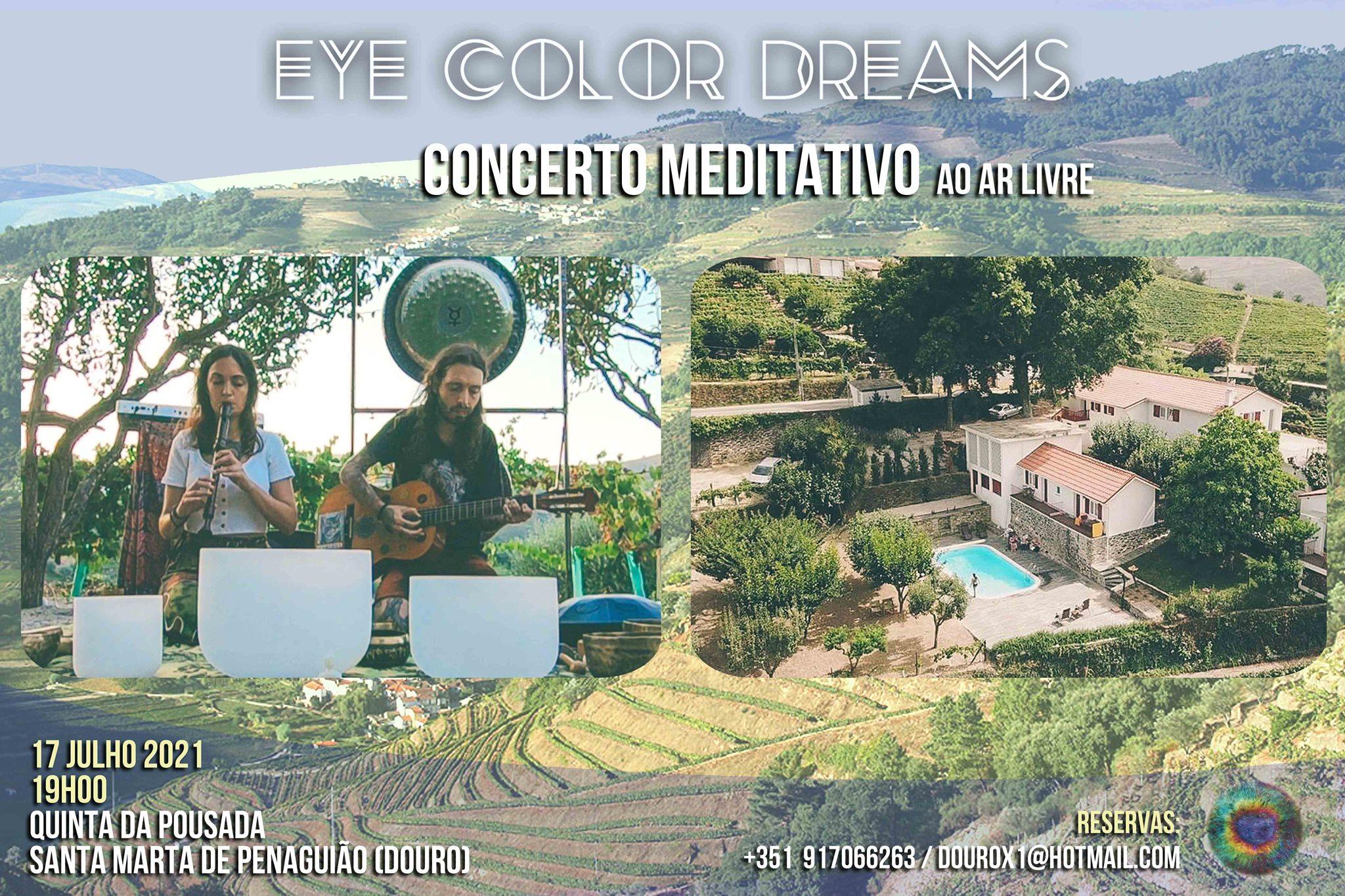 Concerto Meditativo ao ar livre - Eye Color Dreams