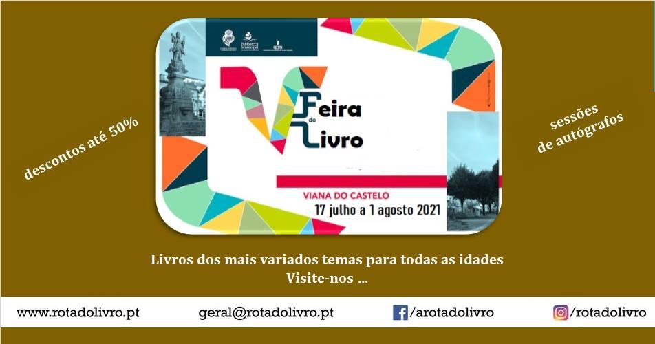 A 'Rota do Livro' na Feira do Livro de Viana do Castelo