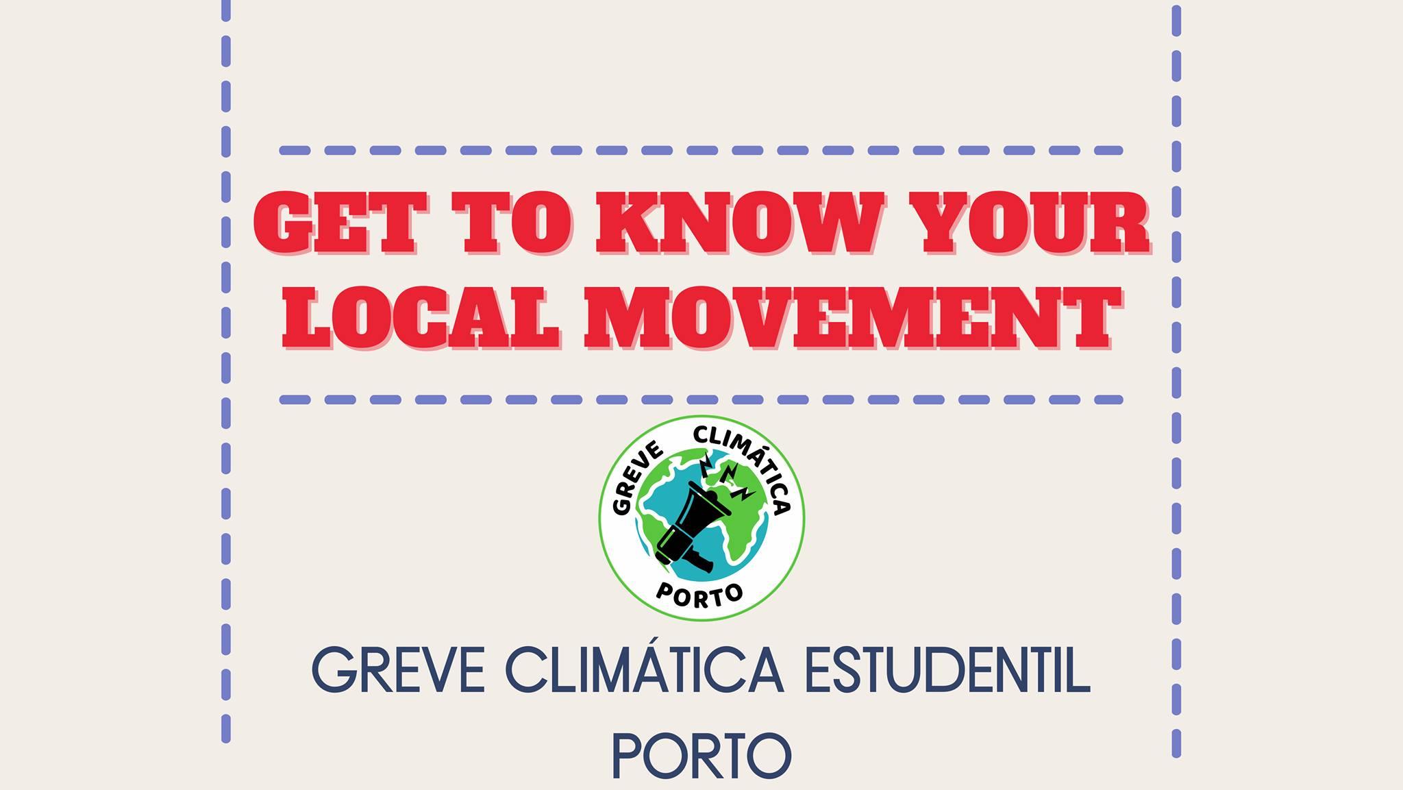 Get to know your local movement: Greve Climática Estudantil Porto
