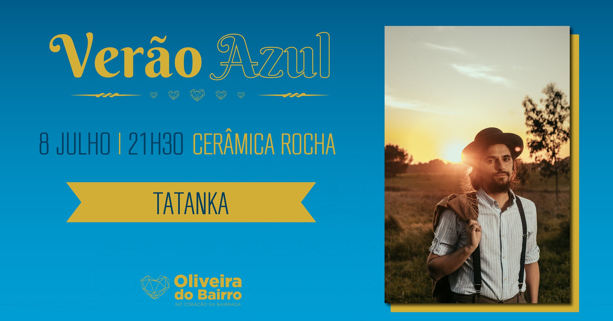 Verão Azul - Tatanka / Cerâmica Rocha