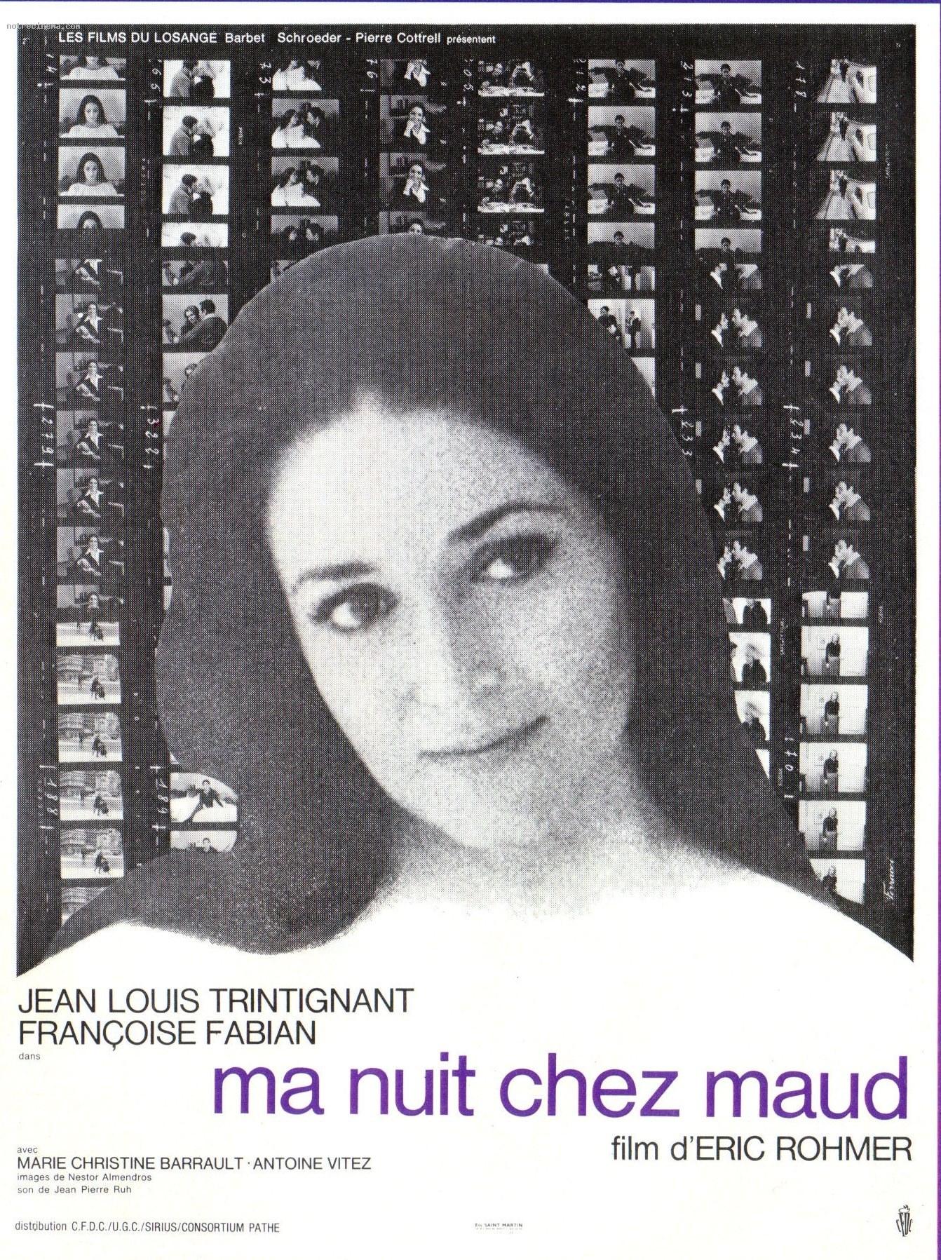 A Minha Noite em Casa de Maud, um filme de  Éric Rohmer