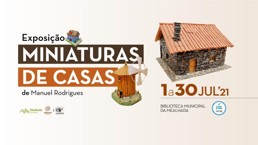 Exposição 'Miniaturas de Casas'