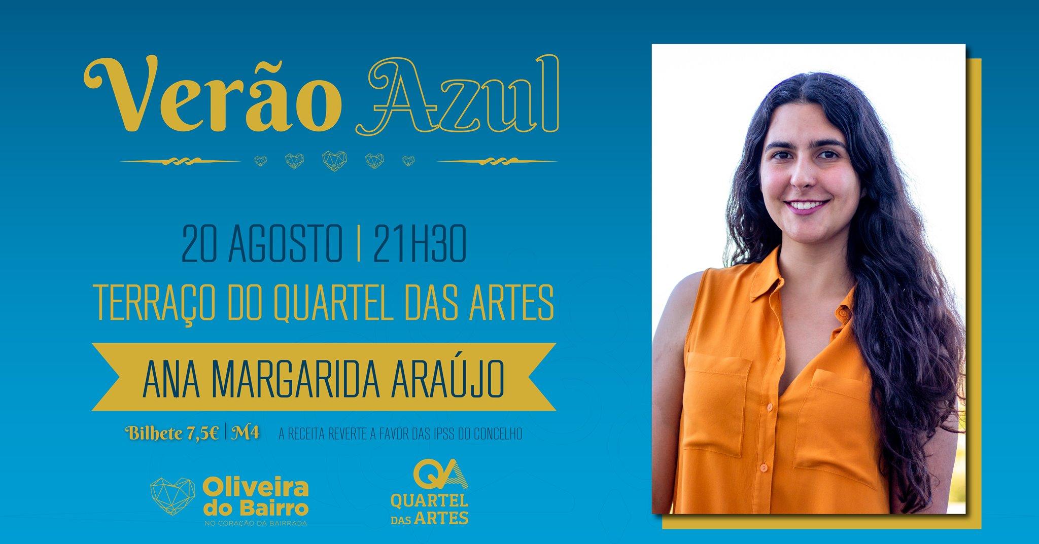 Noites no QA - Às sextas, música no terraço Mafalda Carvalho & Joana Nolasco / Ana Margarida Araújo