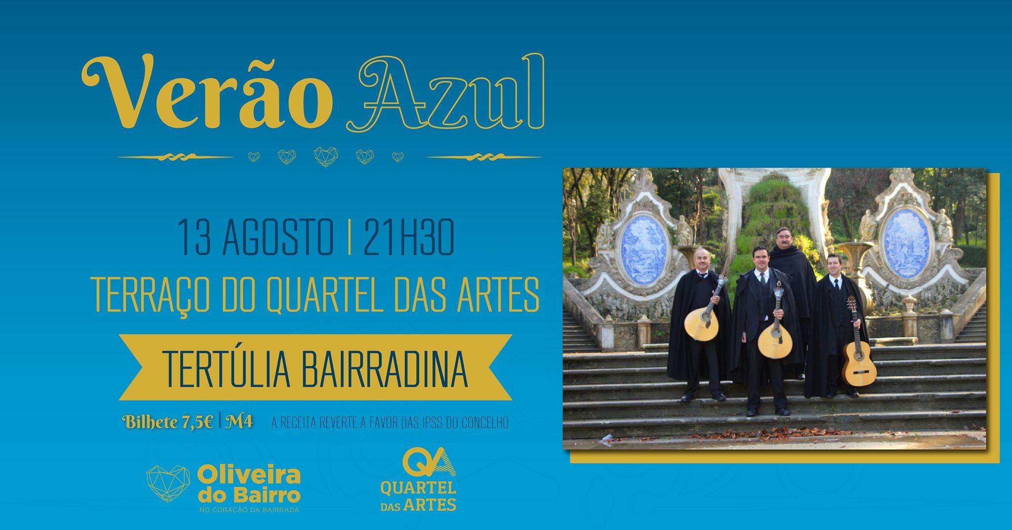 Noites no QA - Às sextas, música no terraço  Tertúlia Bairradina