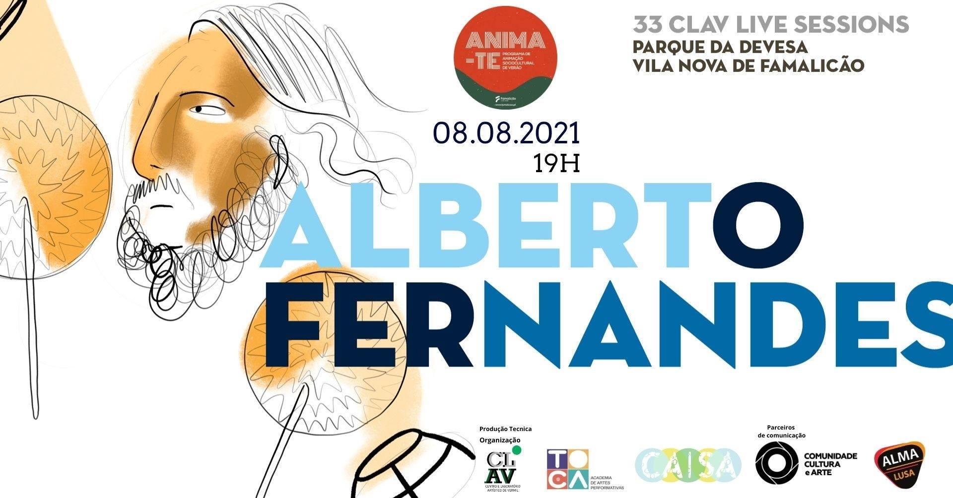 33ª CLAV Live Session // Alberto Fernandes