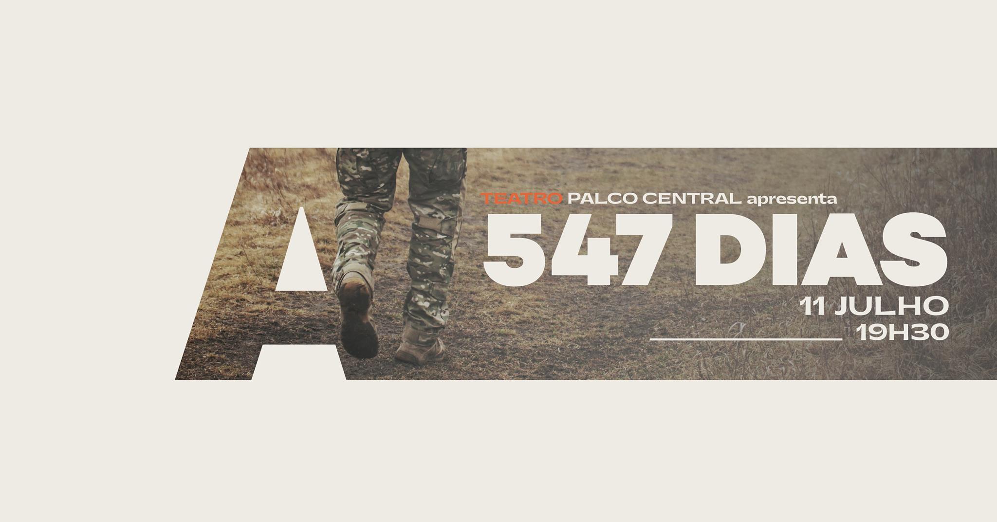 Palco Central apresenta 547 Dias @Avenida Café-Concerto
