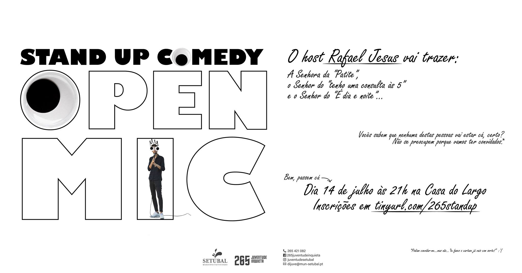 Stand Up Comedy: Open Mic