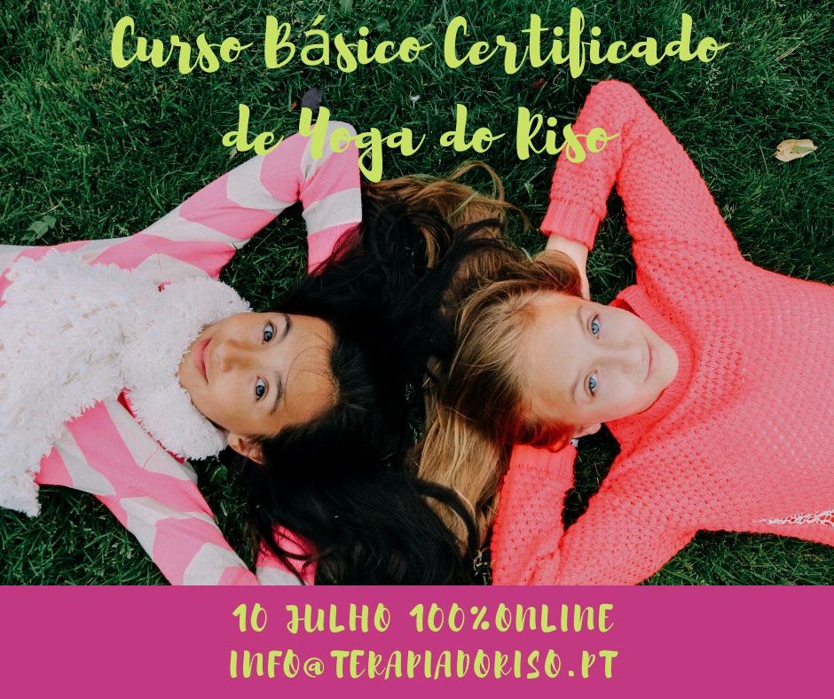 Curso Básico Certificado de Yoga do Riso