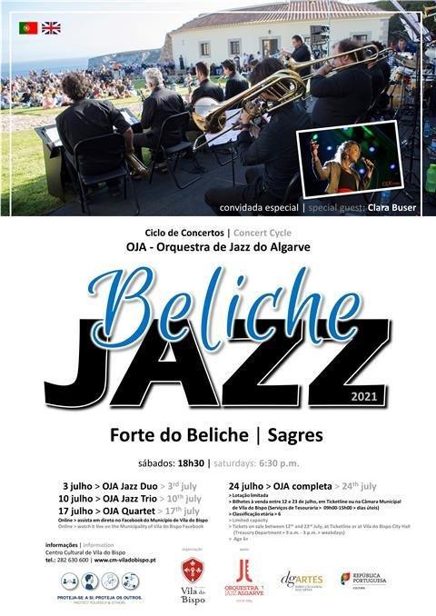 Forte do Beliche recebe Ciclo de Concertos pela Orquestra de Jazz do Algarve