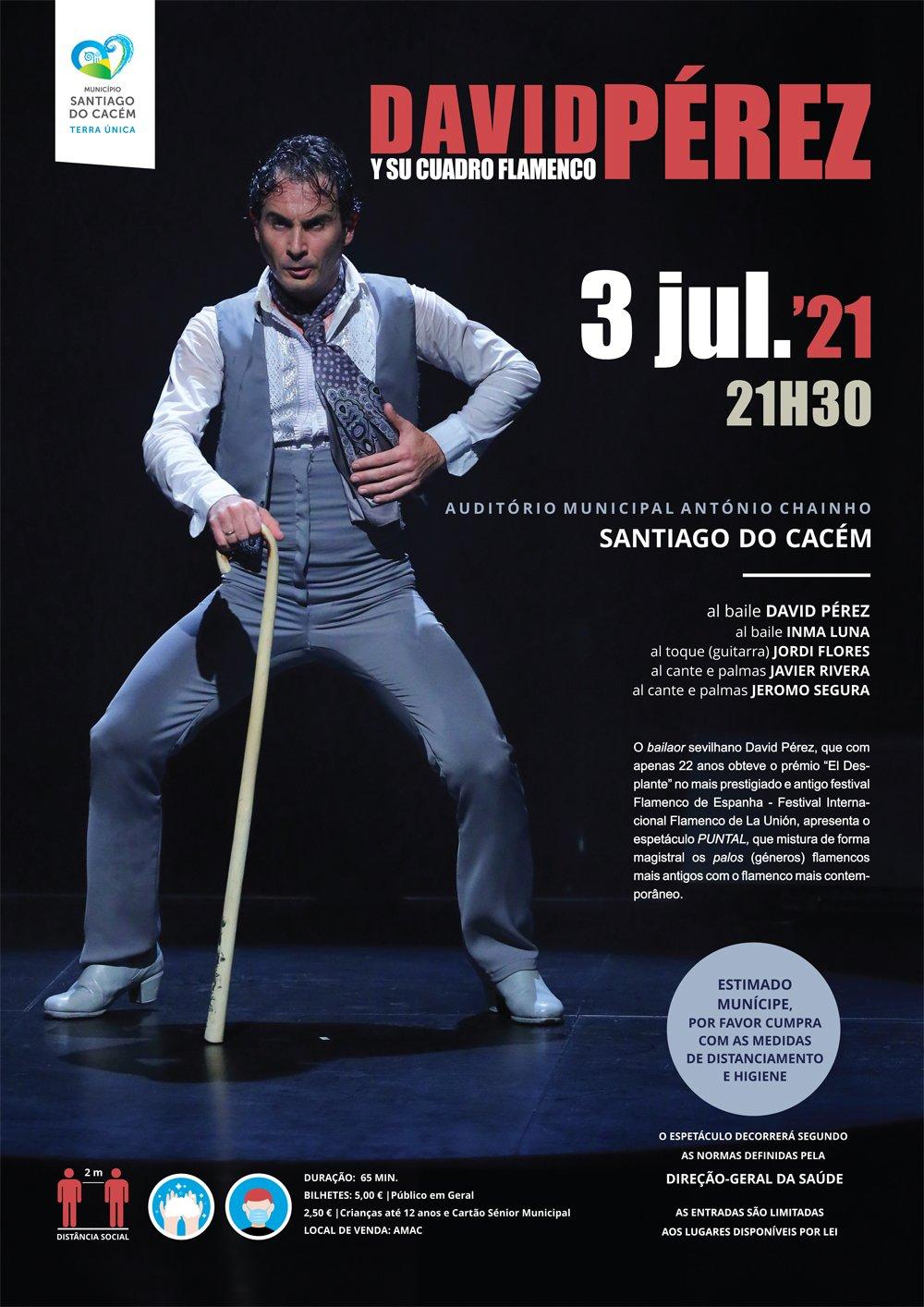 DAVID PÉREZ Y SU CUADRO FLAMENCO