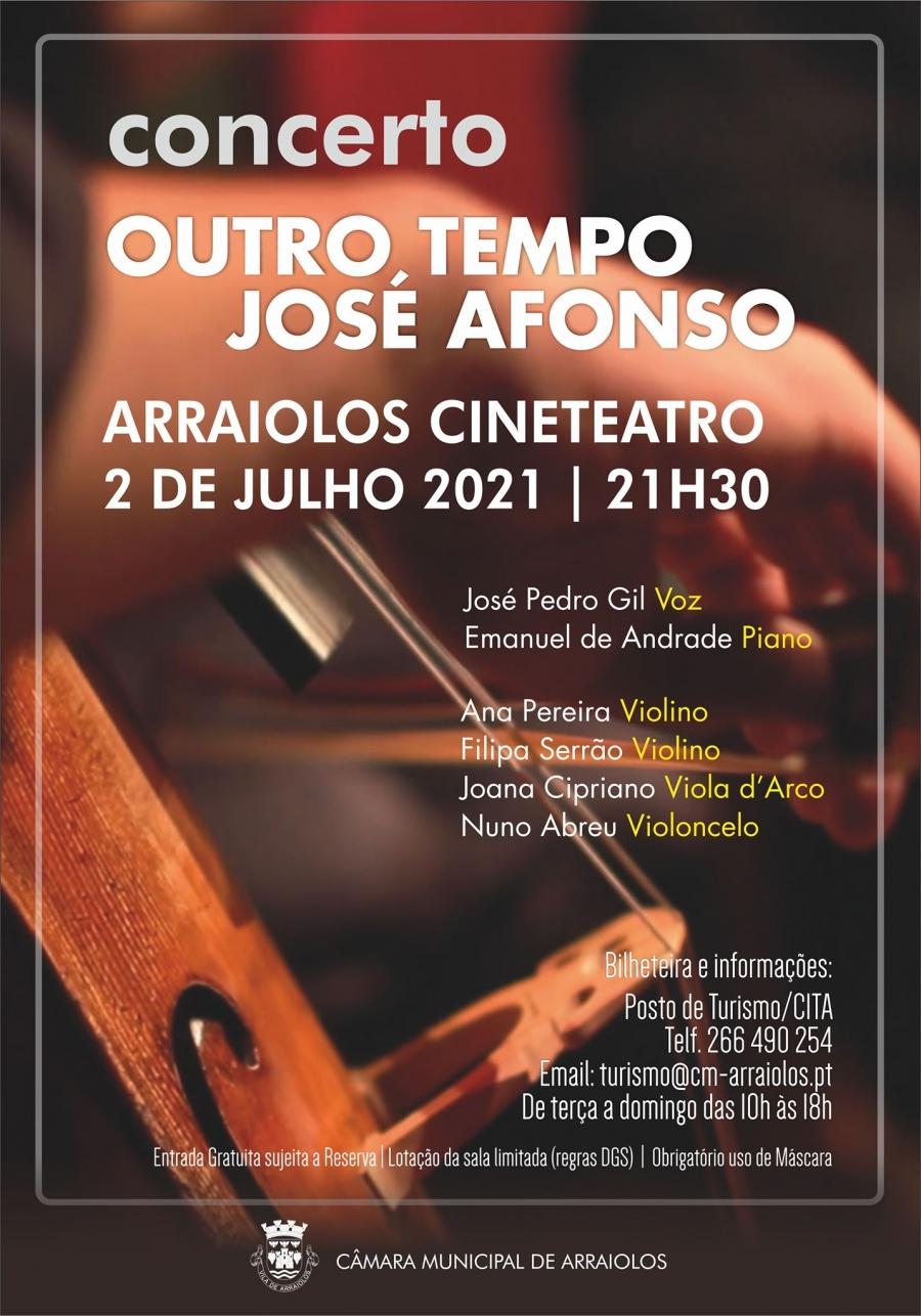 Concerto – Outro Tempo José Afonso