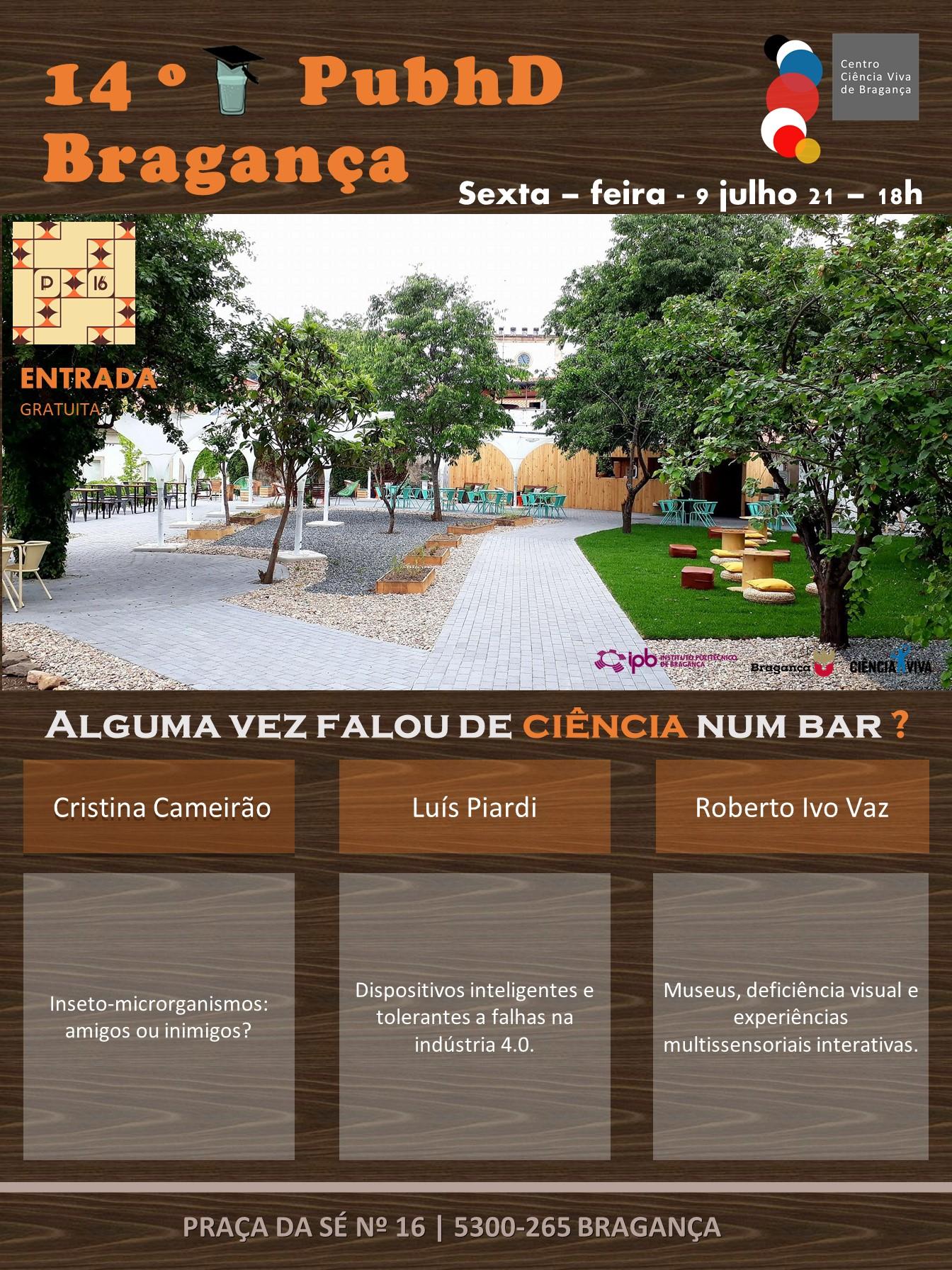 14.o PubhD Bragança