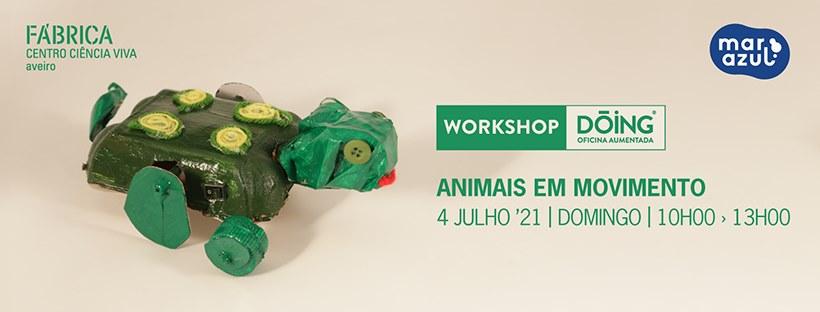 Workshop Dóing - 'Animais em movimento'