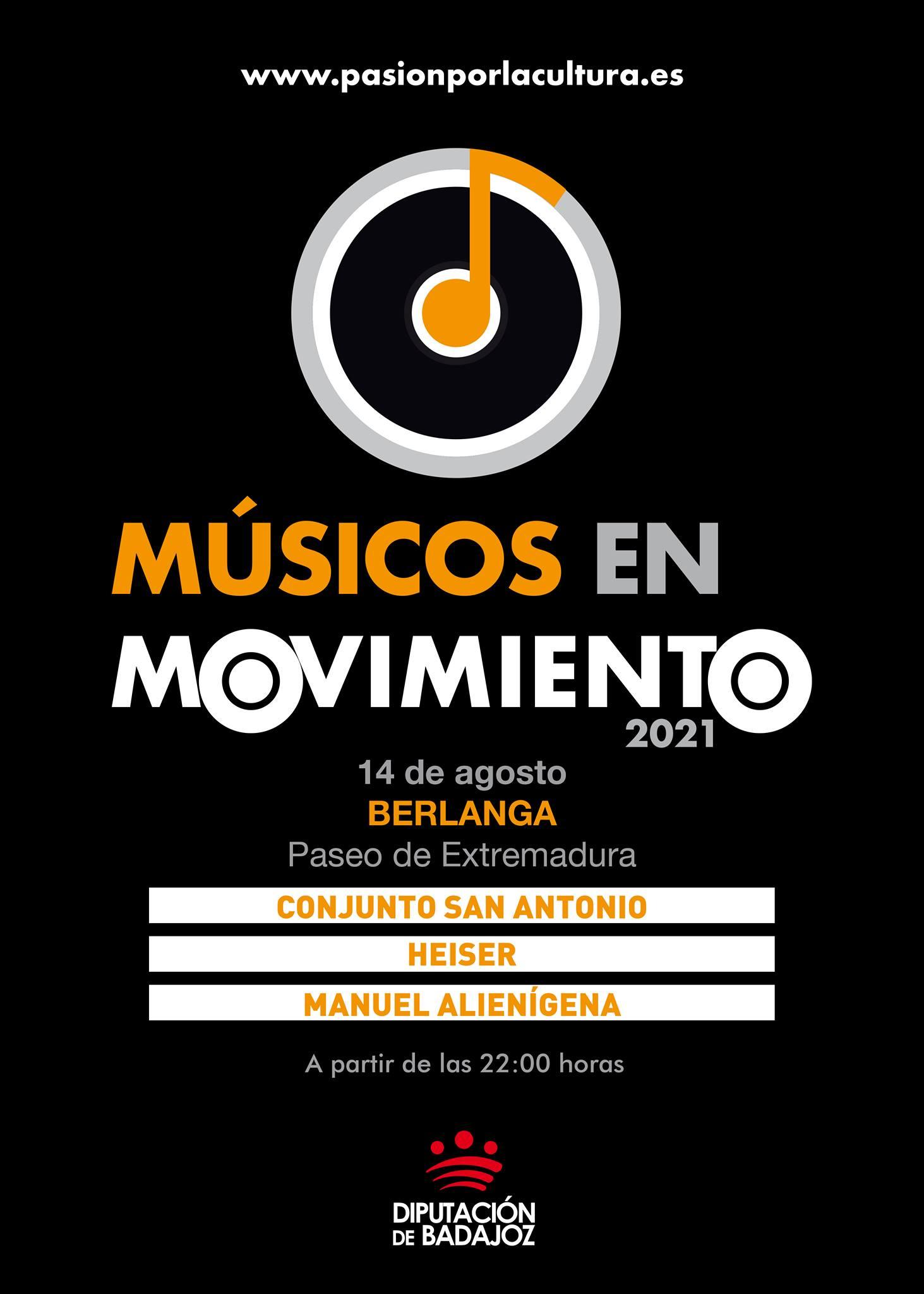 MÚSICOS EN MOVIMIENTO | Conjunto San Antonio + Heiser + Manuel Alienígena