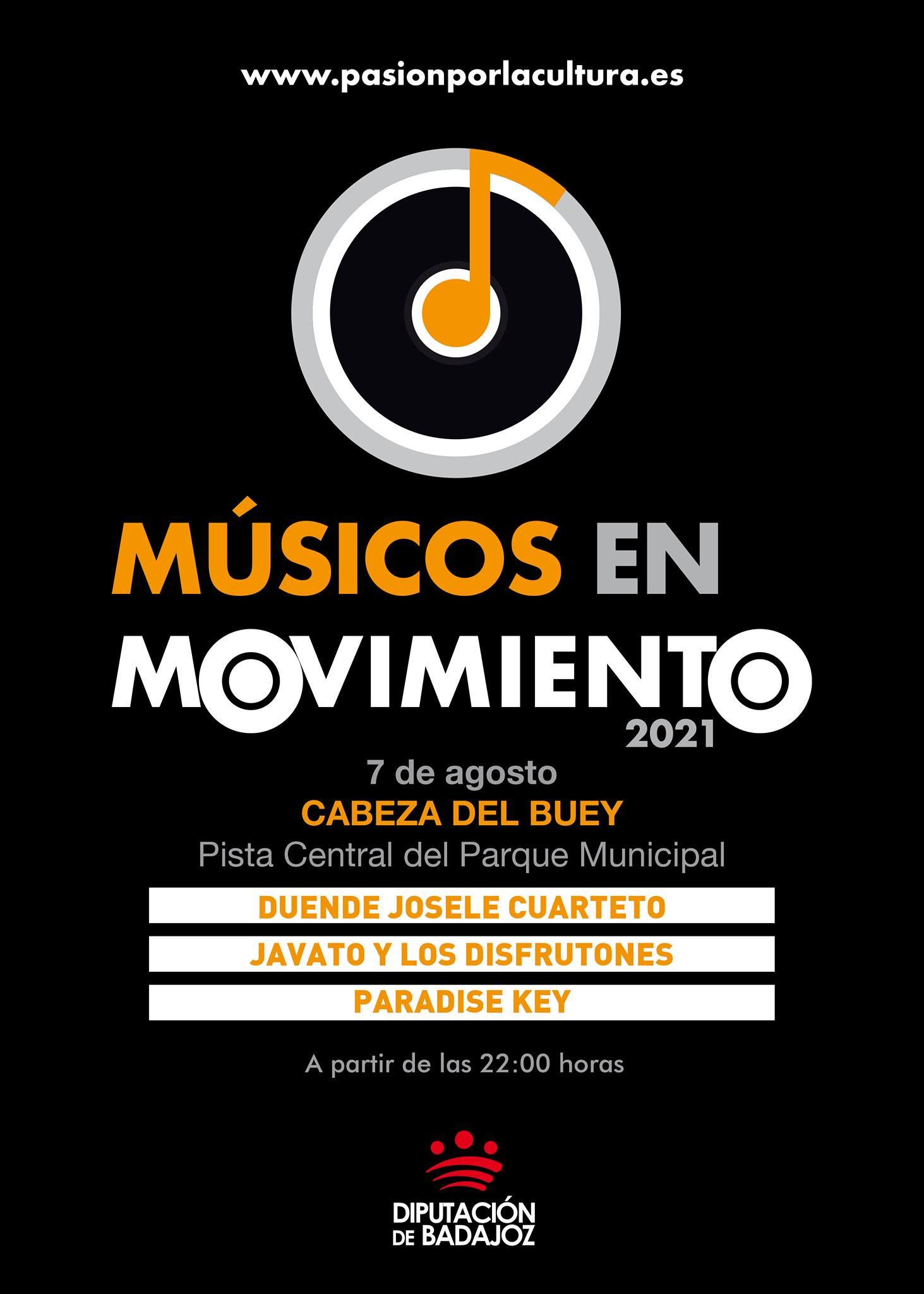 MÚSICOS EN MOVIMIENTO | Duende Josele Cuarteto + Javato y los Disfrutones + Padadise Key