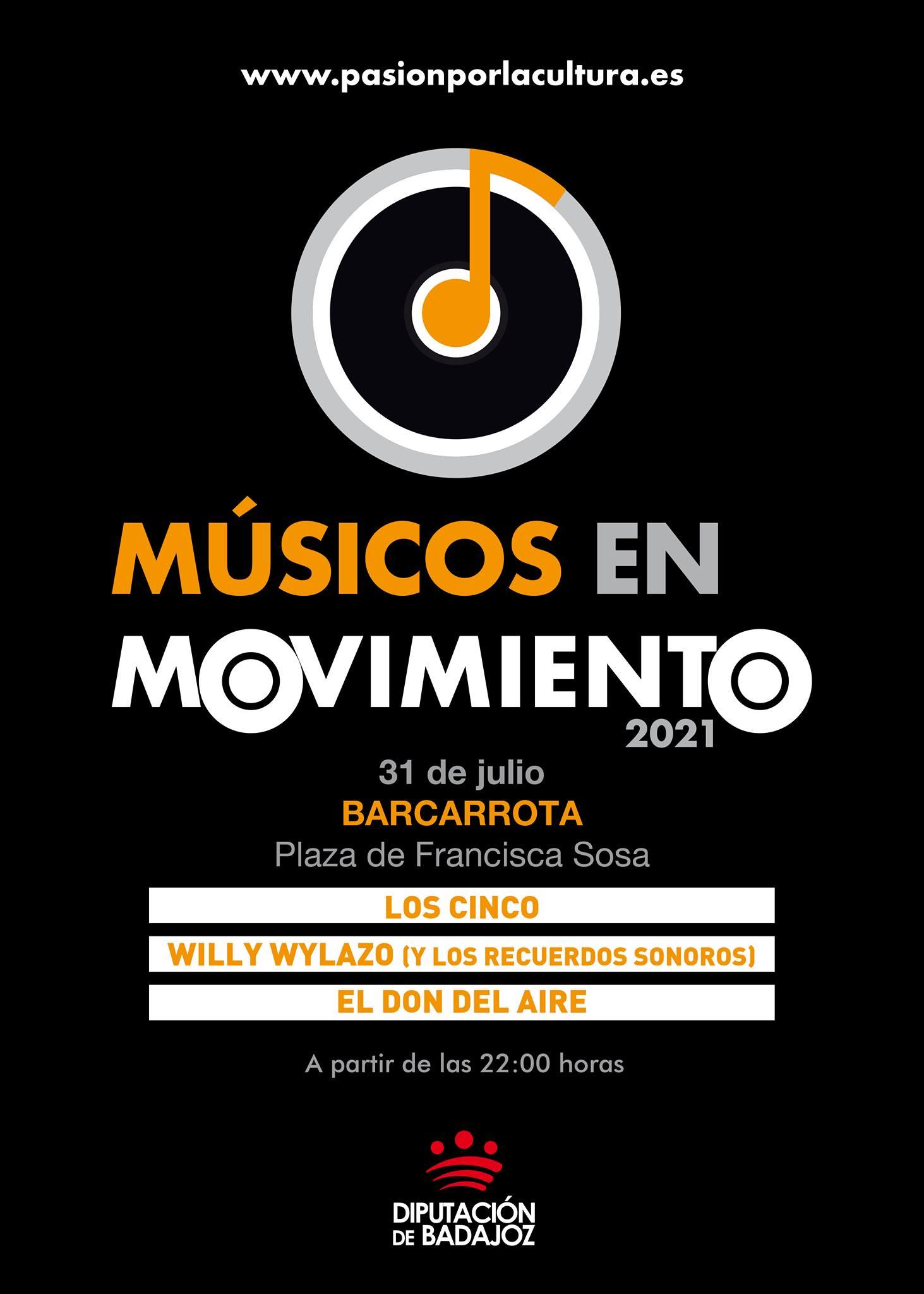 MÚSICOS EN MOVIMIENTO | Los Cinco + Willy Wylazo + El Don Del Aire
